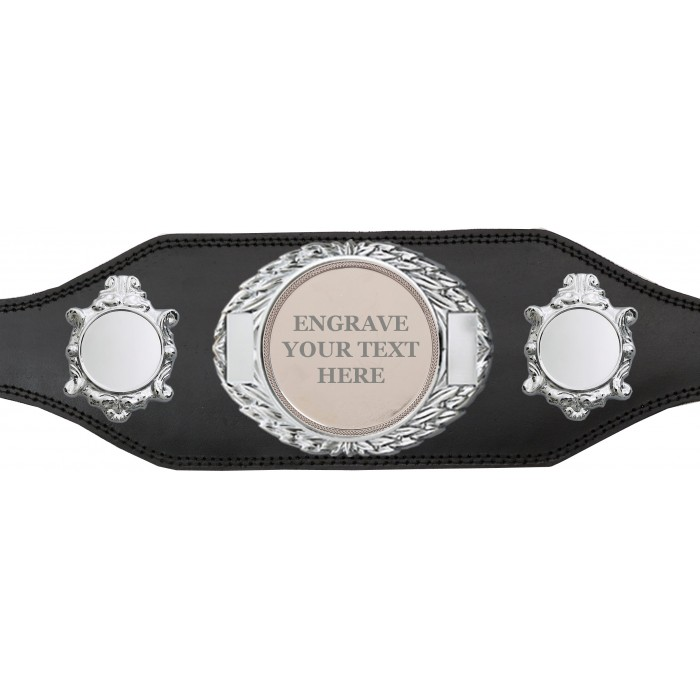 CHAMPIONSHIP BELT - BUD295/S/ENGRAVES - AVAILABLE IN 4 COLOURS